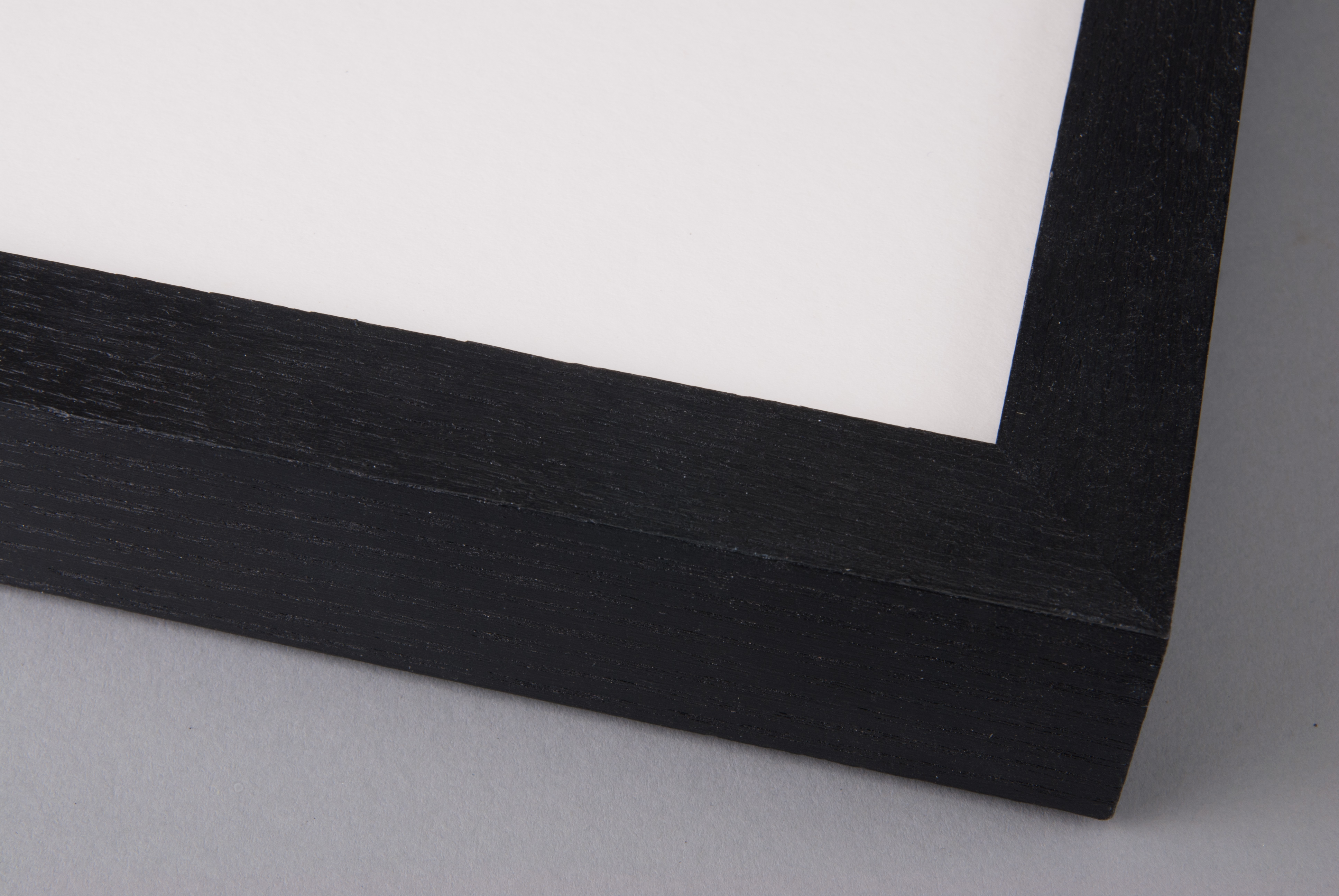 Hand Painted Black on Box Ash