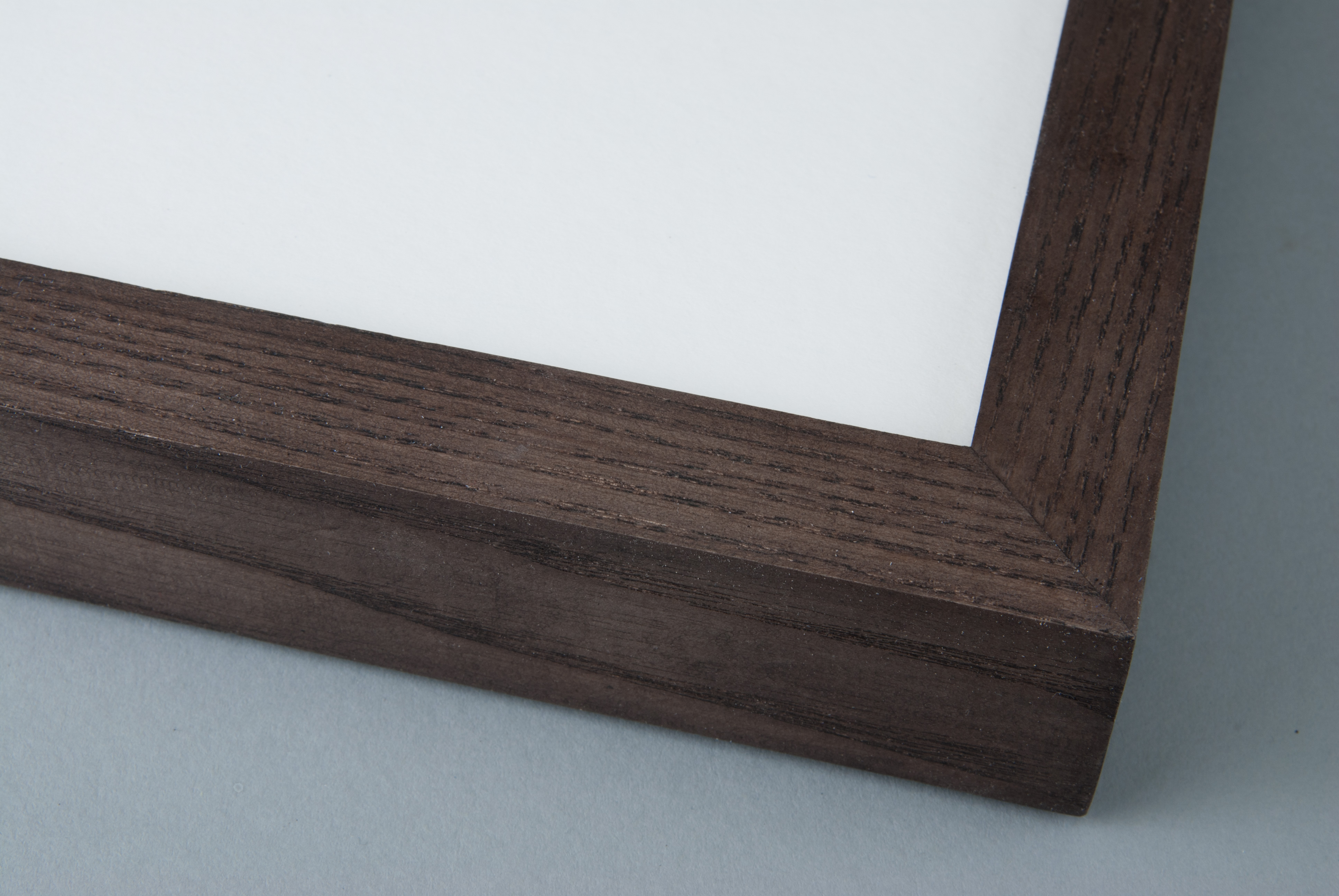 Hand Stained Dark Grey on Box Ash