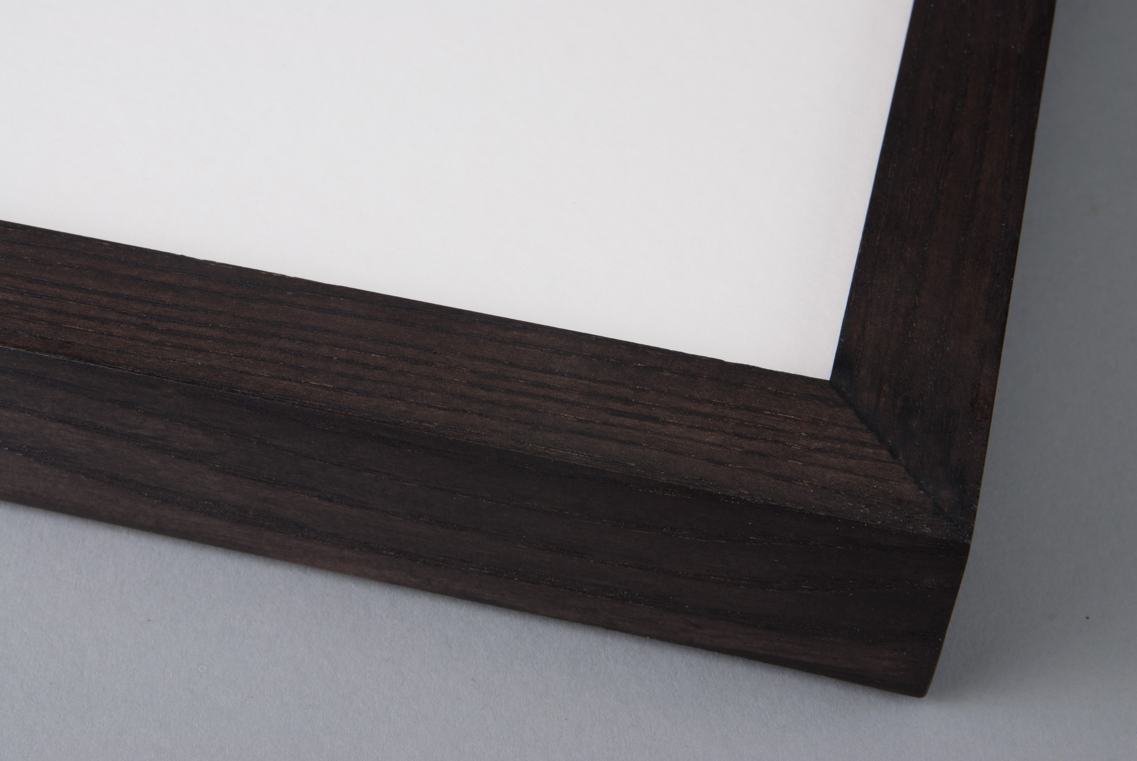 Hand Stained Dark Jacobean on Box Ash