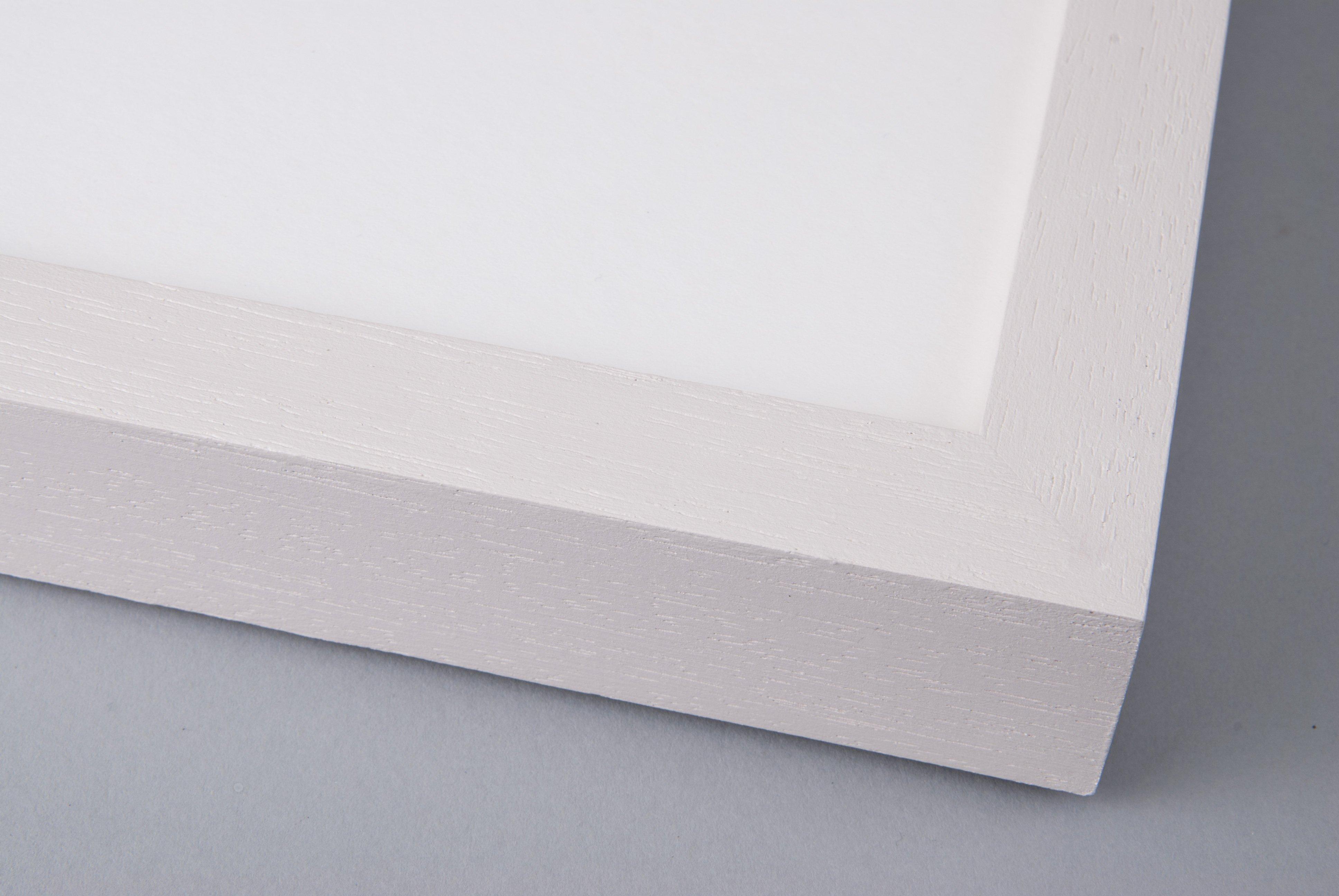 Hand Painted Slipper Satin on Box Obeche
